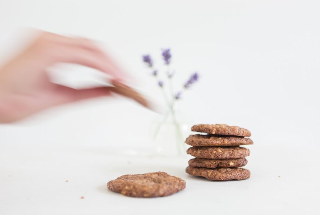 Opskrift:Cookies med jordnødder