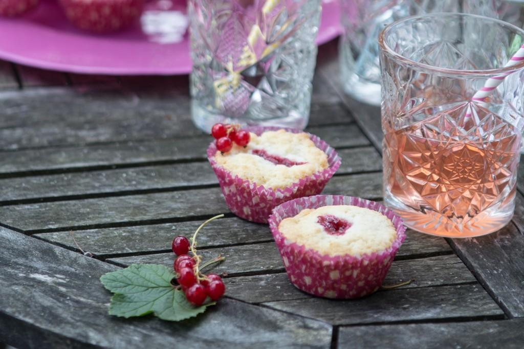 Opskrift:Mini hindbærtærter
