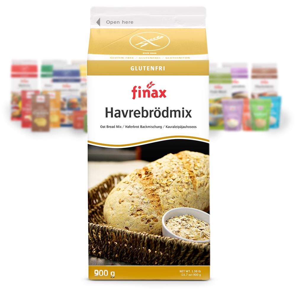Produkt:Havrebrødmix