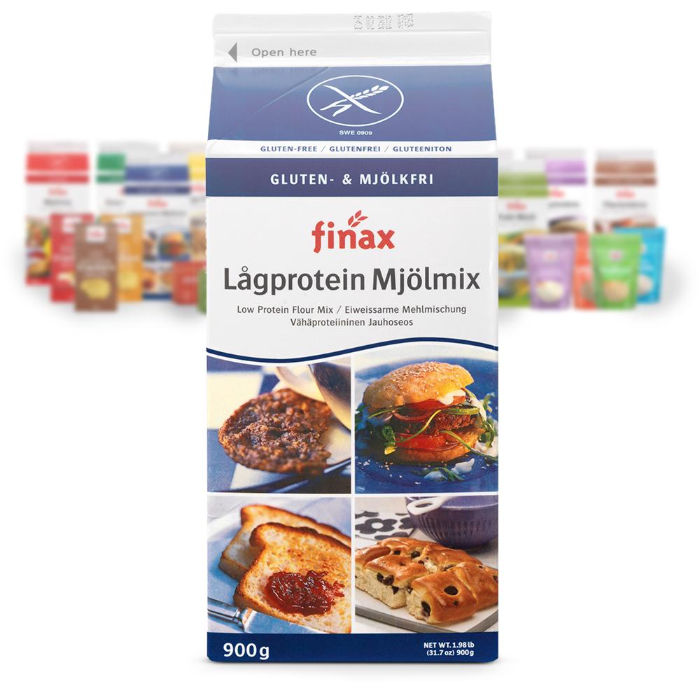 Produkt:Lavprotein melmix