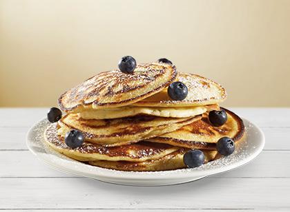 Lækre amerikanske pandekager!