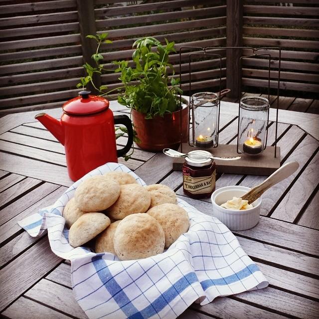 Opskrift:Rundt  brød