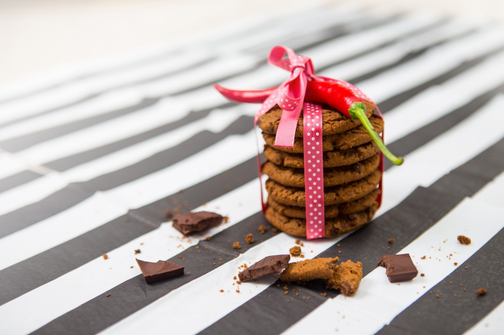 Recipes: Cookies with chocolate