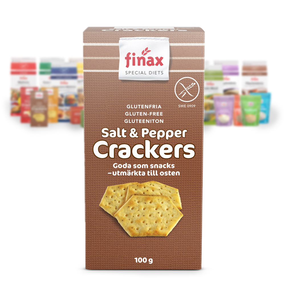 Products: Crackers Salt & Pepper
