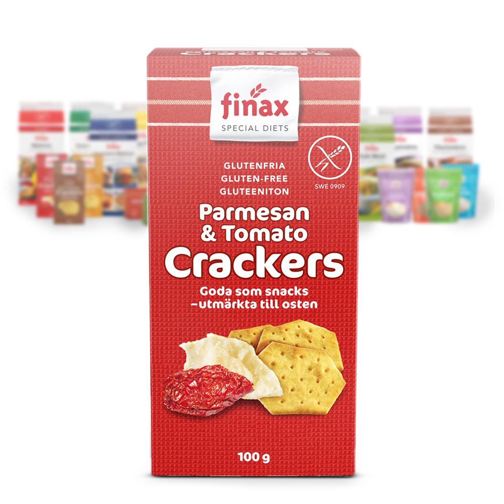 Tuote:Crackers Parmesan & Tomato