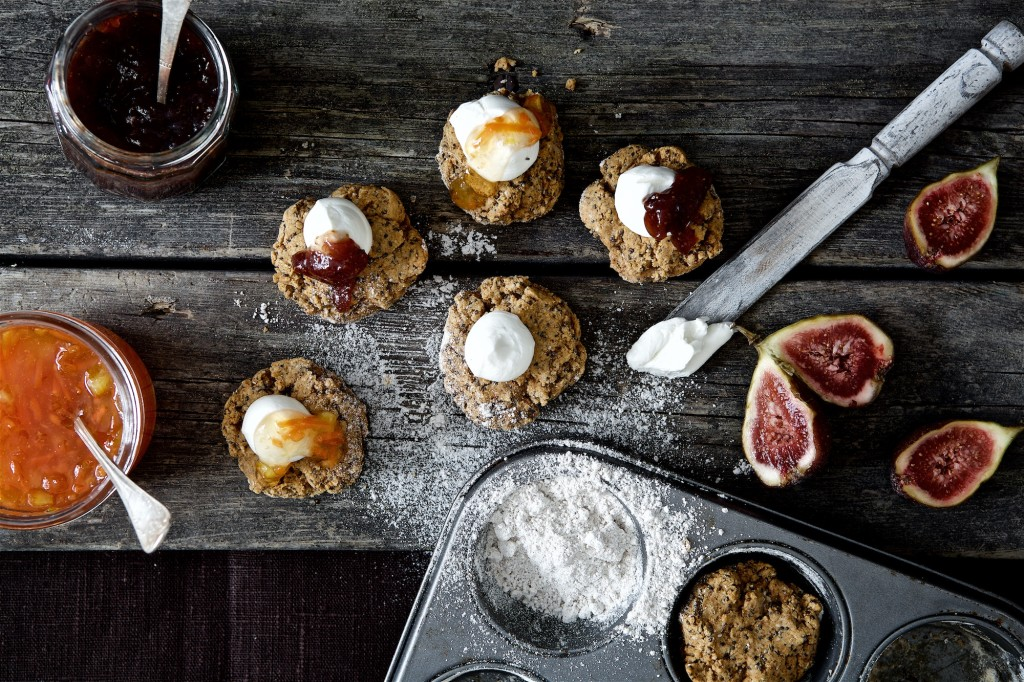 Recept:Glutenfria scones med nypon